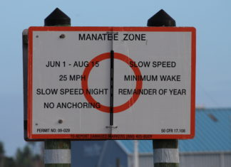 manatee-zone-sign